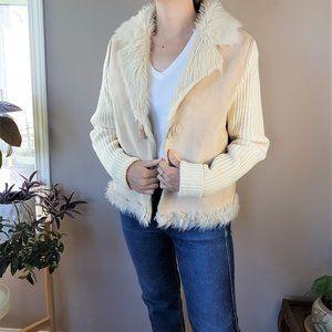 Montanaco faux vegan fur jacket.